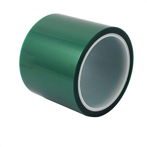 Aexit 80 mm x 33 Meter grünes PET-Klebeband Hochtemperaturbeständiges Band zum L-öten von Leiterplatten (b8b2749e84a6d9f02b5b38c0b6b0a9b5)