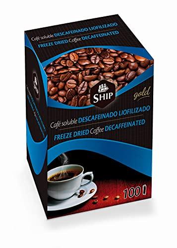 C/100 Sticks CAFE LIOFILIZADO DESCAFEINADO Ship