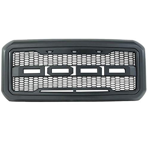 FREEMOTOR802 Compatible with 2011-2016 Ford F-250 F-350 Super Duty Front Grille,...