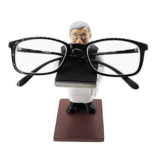 epoxios Antiguo mayordomo hombre reloj soporte de pulsera de hombre viejo anillo soporte creativo gafas titular reloj almacenamiento mesa joyería estante (S)