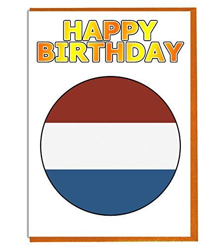 Luxemburg-Flagge – Geburtstagskarte – Fre& – Familie – Kollege – Mate – Boss – geliebte Person