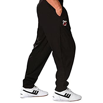 Otomix Youth Kids Solid Black Baggy Kicking Pants  Youth Sm