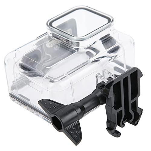 Snufeve6 Carcasa de la cámara, Carcasa de Buceo para cámara Impermeable Submarino Alta transmisión de luz Botón de Goma Suave Protección de 40 m de Profundidad para bucear