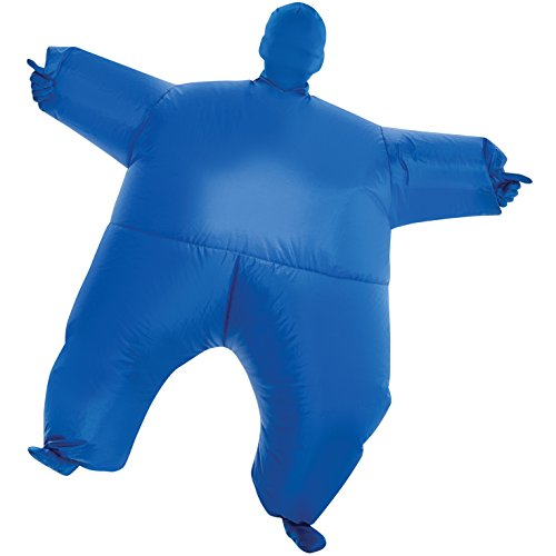 Morphsuits blu Megamorph gonfiabile Kids costume-Taglia unica