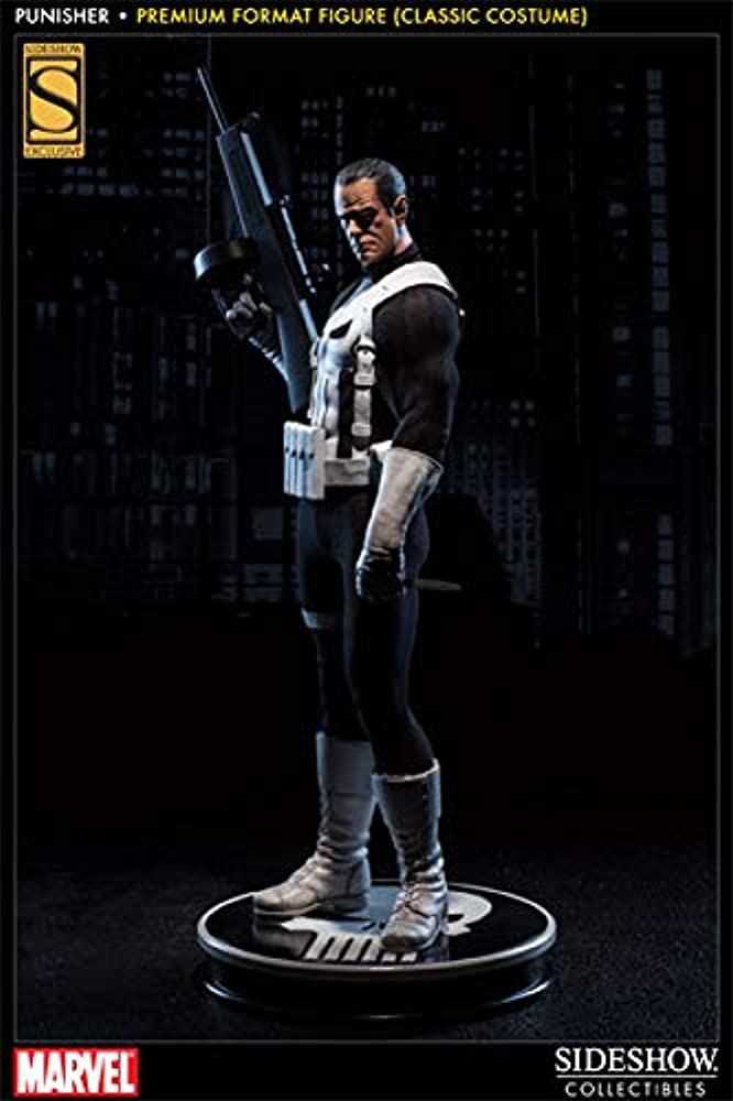 Sideshow marvel exclusive punisher figure statue