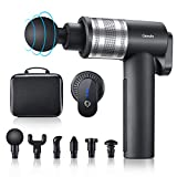 Genofo Massage Gun, Deep Tissue Massager for Pain Relief, Handheld Electric Body Massager Sports Drill Portable,Super Quiet Brushless Motor(Modern Style)
