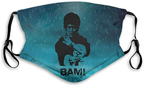 Bruce Lee Bam Unisex Anti-Pollution with Filter Mask