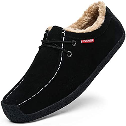 LOVDRAM Hommes Chaussures D'Hiver Hommes Basse Aide Plus Velours Chaussures En Cuir Chaud Casual Hommes Chaussures De Coton Des Chaussures De Conduite Sauvage Grande Taille Chaussures Des Hommes 39-51