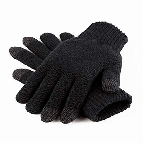 Beechfield B490.BLK.M4S Touchscreen Smart Handschuhe, Schwarz, Small/Medium X-Large