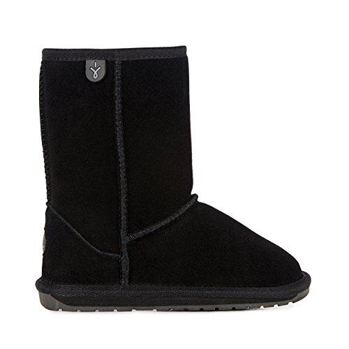 EMU Australia Outer Space Brumby Kids Wool Waterproof Boots Size 2 EMU Boots Black