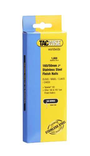 Tacwise 1098  Edelstahlnägel  (160/50mm,1.000 Stück pro Verpackung)