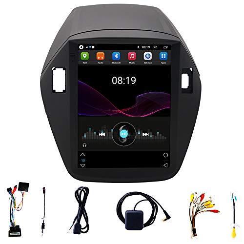 Tlyd Coche Multimedia Navigator, Fast Running, Calidad de Imagen de Alta definición, Soporte Bluetooth Manos Libres, Conexión WiFi, FM, Adecuado para la Pantalla Vertical IX35 Moderna (1 + 16 g)