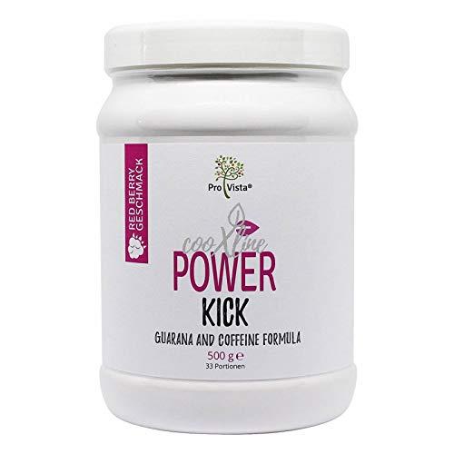 ProVista Power Kick Red Berry - Guarana Koffein Booster - 2 x 500g