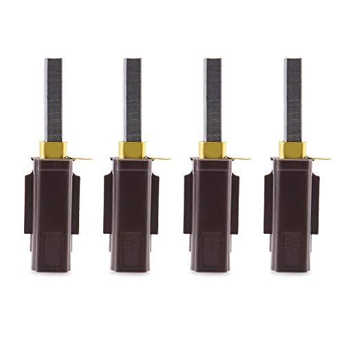 4x Stofzuiger Koolborstels Motorhouder Vervanging Fit voor Numatische Onderdelen Compatibel met 230155 230240 2311480
