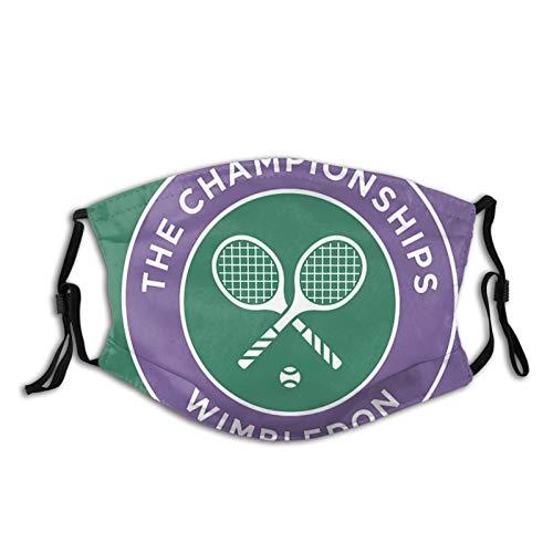 BIT Wimbledon Tennis Herren Damen Schal Hals Gesichtsmaske waschbar Sturmhaube Bandana für Radfahren Laufen Klettern Wandern