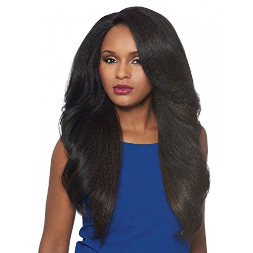 Outre Synthetic L-Part Lace Front Wig NEESHA Color: 1B Off Black