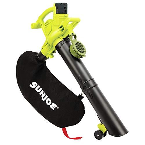 Sun Joe IONBV-XR 40V 5.0 Ah Variable-Speed Cordless Blower/Vacuum/Mulcher (Renewed)
