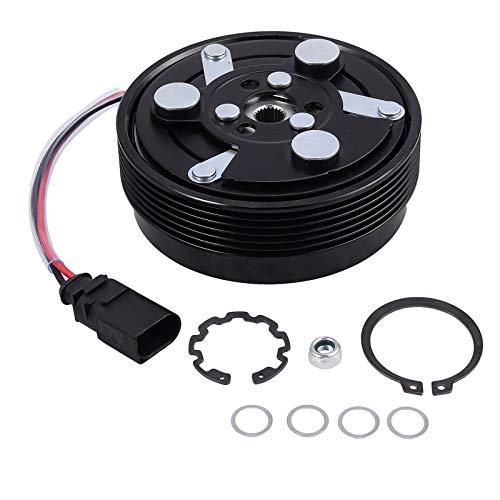 CAMWAY Klimakompressor Magnetkupplung Für Audi A3 TT VW Bora Polo Golf T5 1J0820803K 1J0820811L 1J0820811M 1J0820803F 1J0820803G 1J0820803J NEU