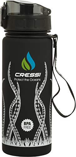 Cressi Water Bottle H20 Frosted - Botella para Uso Deportivo Adultos Unisex