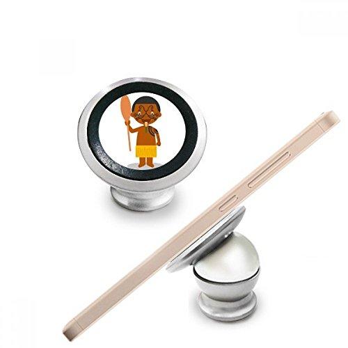 DIYthinker Quant Schwarz Neuseeland Cartoon Magnetic-Telefon-Einfassung Auto-Armaturenbrett-Halter für Handy 360 Grad Drehung Geschenk