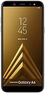 "SAMSUNG GALAXY A6 (2018) SM-A600GN/DS DUAL SIM 5.6"" HD+ 32 GB 3 GB RAM Octa-Core 1.6Ghz, 4G LTE 16MP Front Camera + Led Flash -Fingerprint -Factory Unlocked -International Version -No Warranty (Gold)"