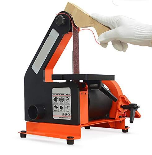 BINGFANG-W Discs Desktop-Bandschleifer Multifunktions DIY Holzbearbeitung Grinder 2950rpm Schleifen Poliermaschine 0~45 ° Schleifband Sandmühle Metall Kunststoff Sharpener Abrasive