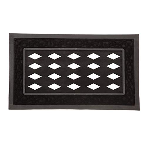 Mejor Evergreen Bless This Home Decorative Mat Insert, 10 x 22 inches crítica 2020