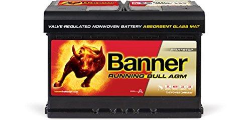 Banner Running Bull Batterie de AGM 57001 - 70AH - 12V