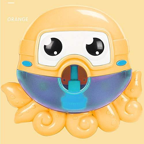 SSBH Máquina de la burbuja del pulpo, música incorporada del juguete del pulpo de la burbuja del escupitajo, bañera infantil Niños que se bañan Ducha del baño del bebé Juguetes del agua con la canción