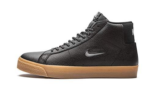 Nike Chaqueta Zoom para hombre Mid Premium SB CU5283 001 Jewel Swoosh - Negro/Gum - Talla, (Negro/Gum Jewel), 42 EU