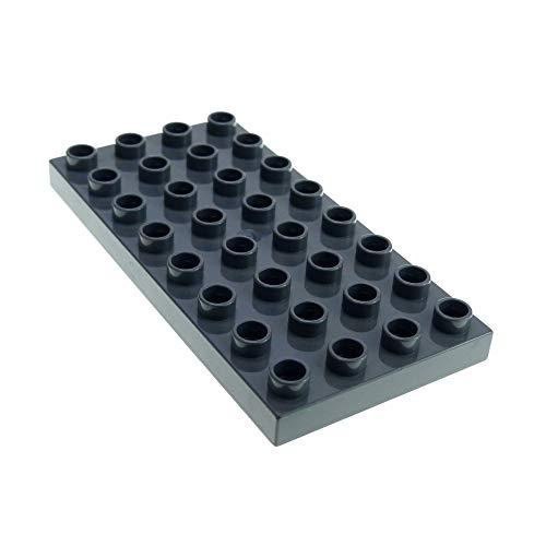 Lego Duplo Bauplatte Platte 4x8 grau