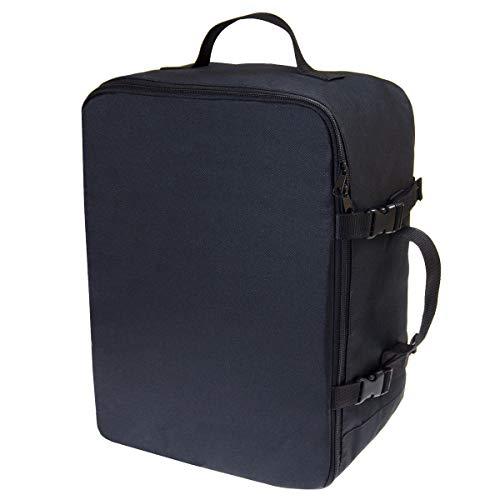Personalizado Mochila de Equipaje de Mano Maleta de Viaje de Cabina Equipaje de Mano Aprobada para Transporte Aéreo Maleta para Todos los Vuelos Tamaño 40x30x20cm Negro [102]