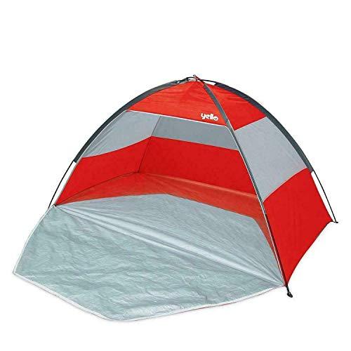 Wilton Bradley UPF40 Family Beach Tent Shelter Red Or Blue