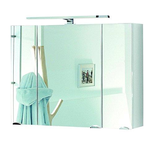 Posseik Spiegelschrank in weiß