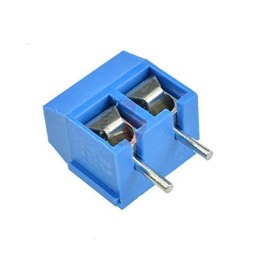 Xyhcs. 10PCS KF301-2P 5,08 mm 2 Pin Connect Anschluss Schraubklemmverbinder