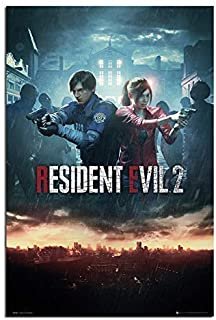 Resident Evil 2 Poster City Maxi - 91.5 x 61cms (36 x 24 Inches)