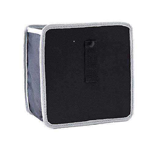 Bequemes Auto Mülleimer Premium-Handy aus dem Papierkorb kann hängen Rücksitz-Organisatoren Grau