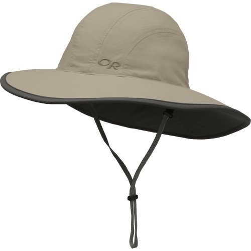 Outdoor Research Kid's Rambler Sun Sombrero Hat - Breathable Wide Brimmed Sun Protection with Adjustable Drawcord