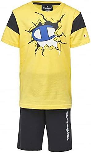 Champion Boy's Clothing Set Fashion T-Shirt Shorts Casual Athletic Summer Kid's 305217-YS080 New