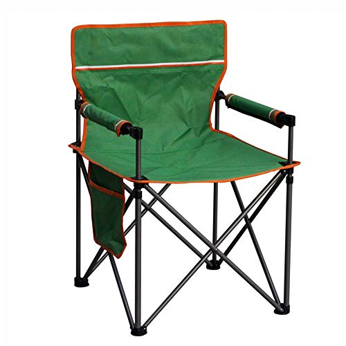 CYT Chaise Pliante Chaise de Plage en Acier Tube Tube en Aluminium Tube avec Magazine Bag Tea Board Loisirs Fauteuil Chaise De P/êche Chaise Longue