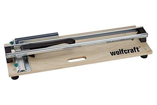 wolfcraft 5561000 I TC 610 W - Fliesenschneider I Der kompakte Fliesenschneider auf Holzgrundplatte