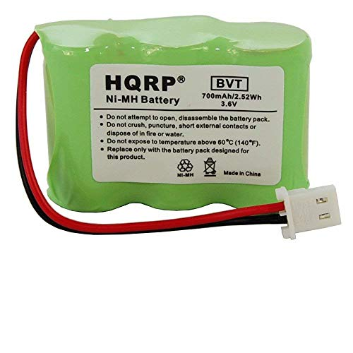 HQRP Battery Compatible with Eton/GRUNDIG FR360-BAT, FR360, Axis Radio