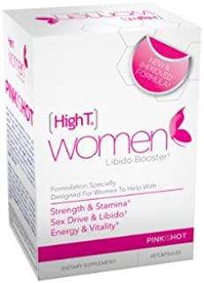 High T Women, Formulated to Enhance Energy, Libido and Mood 60 capsules
