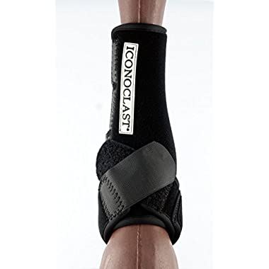 Iconoclast Front Orthopedic Support Boots M Black