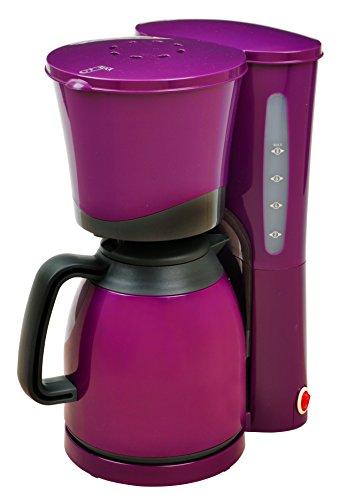 Efbe-Schott Kaffeemaschine mit Thermoskanne, 1 l Fassungsvermögen, 800 W, Lila/Schwarz, SC KA 520.1 PURPUR