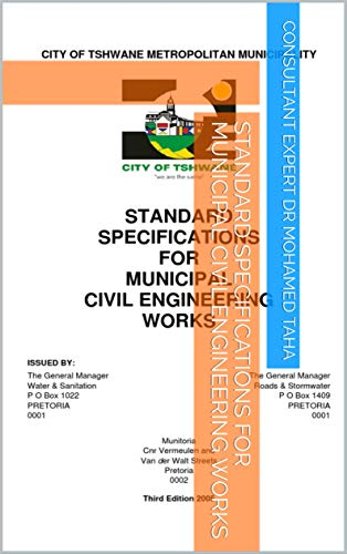 STANDARD SPECIFICATIONS FOR MUNICIPAL CIVIL ENGINEERING WORKS