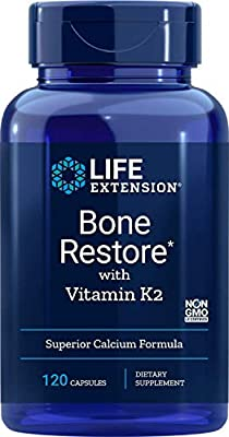 Life Extension, Bone Restore, With Vitamin K2, 120 Capsules from Life Extension