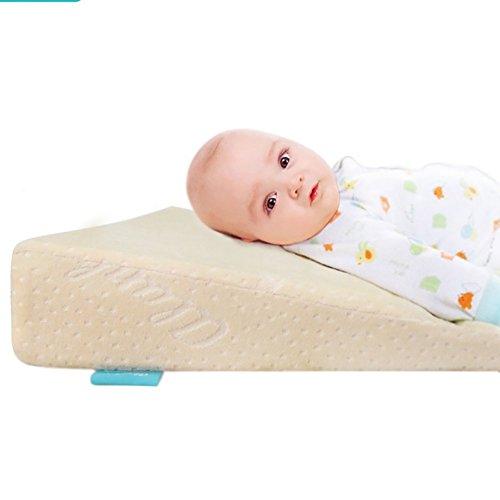 XICHENG Almohadas Maternales Y Infantiles - Almohada De Leche Antiespitoso para Bebés Inclinación A La...