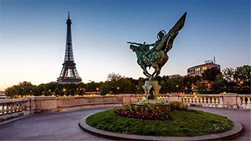 Reborn Statue France Paris Eiffel Tour For Children Adult Puzzles Gift Grote Puzzelspeelgoedpuzzels En Uitdagingscadeaus Legpuzzel-1000 Stukjes