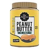 Peanut Butter Unsweetened Creamy 1KG (No Added Sugar Vegan High Protein Keto)